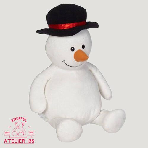 Knuffelbeer Olaf de Sneeuwman personaliseren