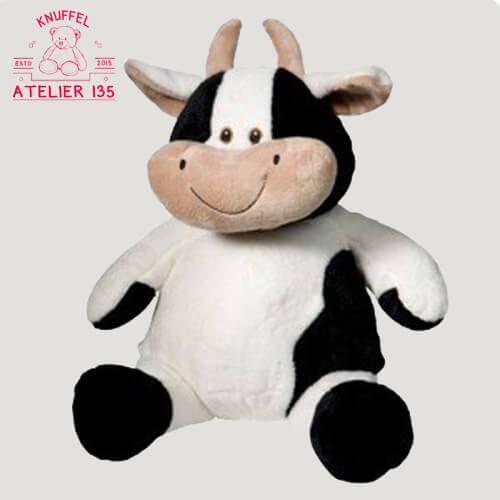 Teddybeer geboorte met naam MooMoo de Koe